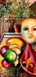 Detail Image for art Mardi Gras Night - SOLD