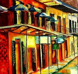 Detail Image for art Bourbon Street Glitz SOLD