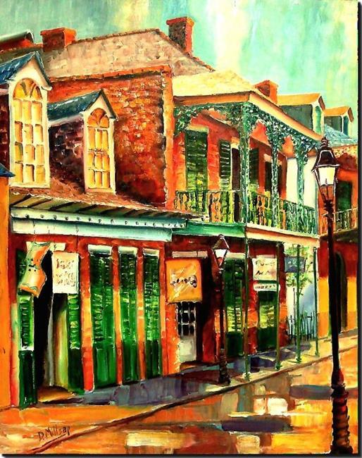 Art: Morning in the French Quarter - SOLD by Artist Diane Millsap