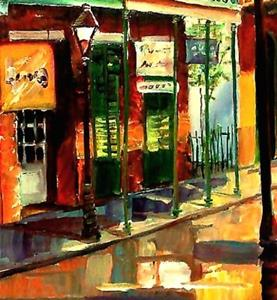 Detail Image for art Morning in the French Quarter - SOLD