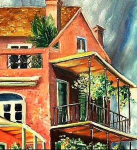 Detail Image for art Beautiful Vieux Carre' - SOLD