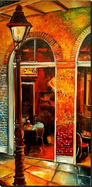 Art: Late Night Nawlins - SOLD by Artist Diane Millsap