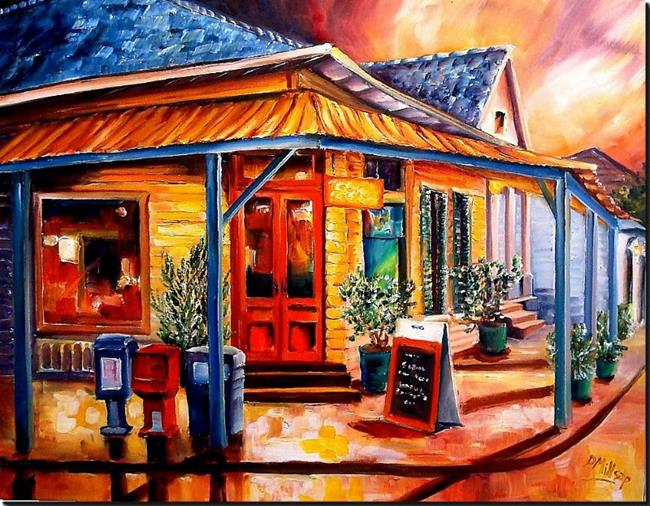 Art: Colorful Marigny - SOLD by Artist Diane Millsap