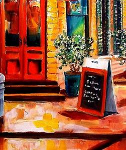 Detail Image for art Colorful Marigny - SOLD