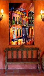 Detail Image for art Walk into the French Quarter - SOLD