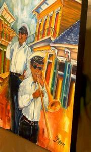 Detail Image for art The Musicians of Treme
