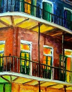 Detail Image for art Nawlins Rainbow - SOLD