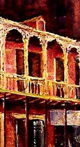 Detail Image for art French Quarter History - SOLD