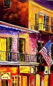 Detail Image for art Lights on Bourbon Street - SOLD