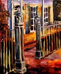 Detail Image for art Evening in Uptown - SOLD