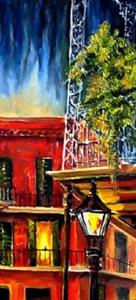Detail Image for art French Quarter Balconies - SOLD