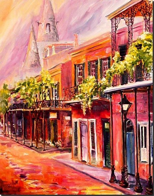 Art: Spring in New Orleans - SOLD  by Artist Diane Millsap