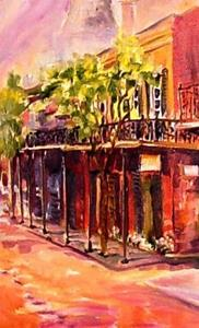 Detail Image for art Spring in New Orleans - SOLD