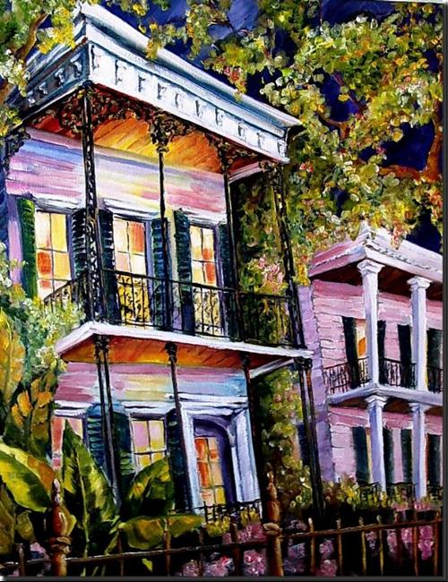 Art: Warm Welcome in the Big Easy - SOLD by Artist Diane Millsap