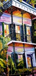 Detail Image for art Warm Welcome in the Big Easy - SOLD