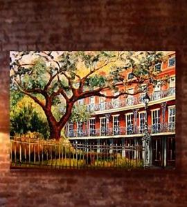 Detail Image for art Jackson Square - French Quarter - SOLD