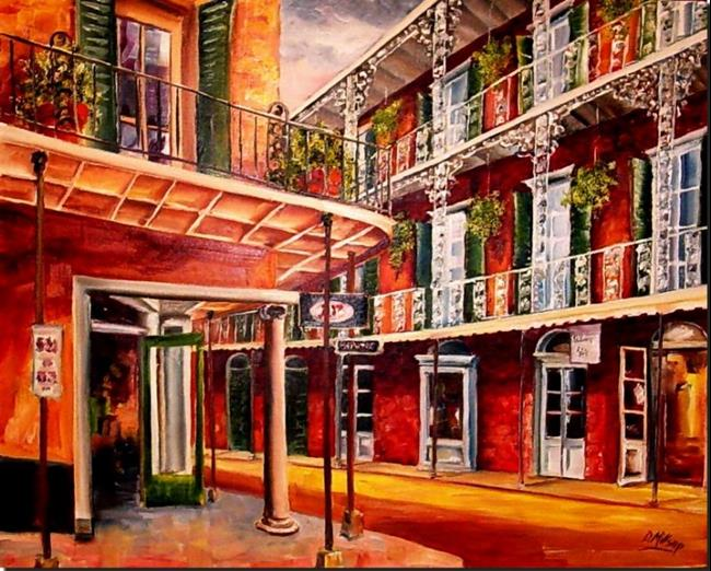 Art: The French Quarter A&P- SOLD by Artist Diane Millsap