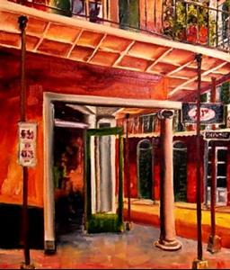 Detail Image for art The French Quarter A&P- SOLD