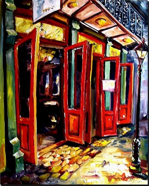 Art Big Red Doors in the French Quarter - SOLD by Artist Diane Millsap  sc 1 st  EBSQ & Big Red Doors in the French Quarter - SOLD - by Diane Millsap from ...