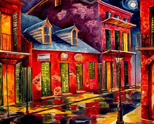 Art: French Quarter Dazzle - SOLD by Artist Diane Millsap