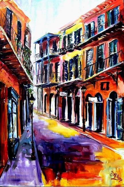 Art: French Quarter Spell - SOLD by Artist Diane Millsap