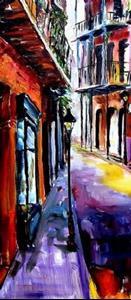 Detail Image for art French Quarter Spell - SOLD