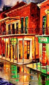 Detail Image for art Rue Bourbon - SOLD