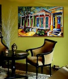 Detail Image for art New Orleans - Plain and Fancy - SOLD