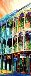 Detail Image for art Early Morning on Royal Street - SOLD
