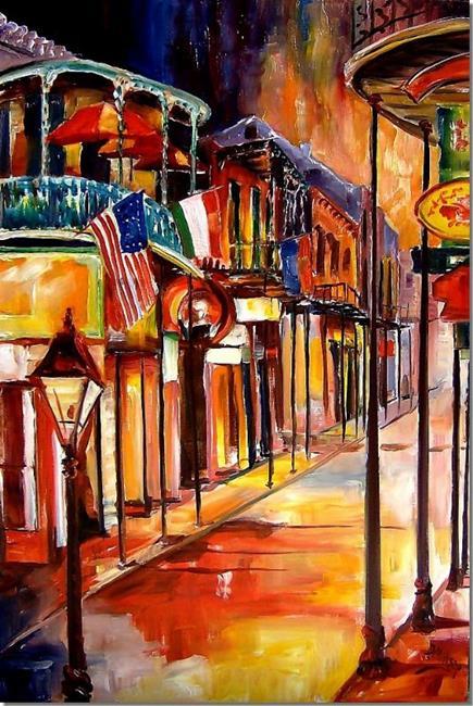 Art: Bourbon Street Beguile - SOLD by Artist Diane Millsap
