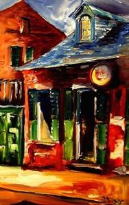 Detail Image for art Sunny Side of the French Quarter - SOLD