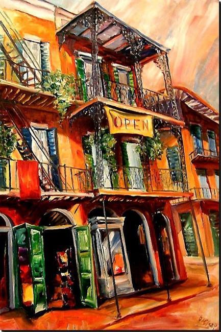 Art: Open - SOLD by Artist Diane Millsap