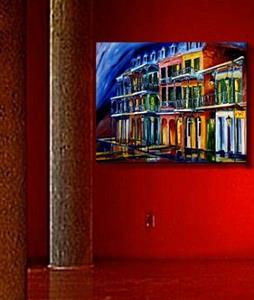 Detail Image for art French Quarter Glow - SOLD