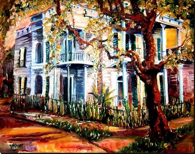 Art: Garden District Dream - SOLD by Artist Diane Millsap