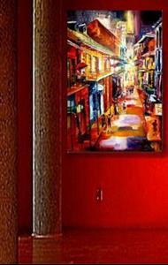 Detail Image for art Bourbon Street Glitter SOLD