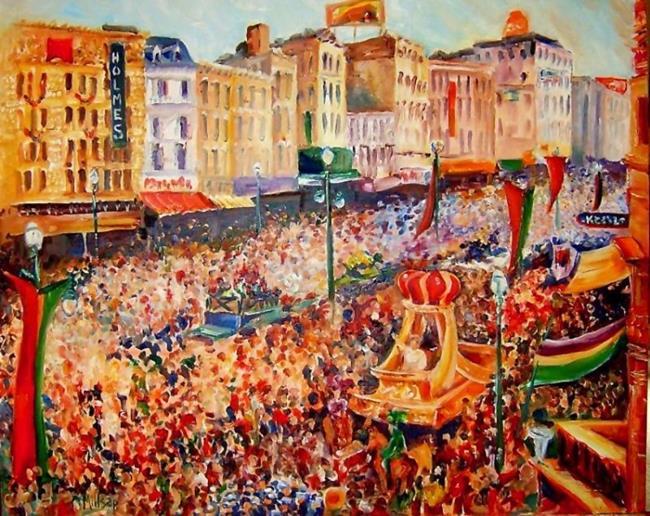 Art: Mardi Gras Rex Parade - Commissioned by Artist Diane Millsap