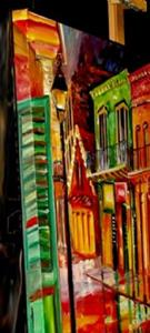 Detail Image for art Bourbon Street Neon - SOLD