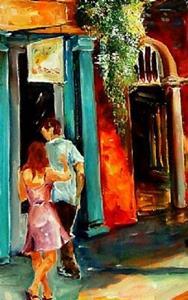 Detail Image for art French Quarter Spring - SOLD