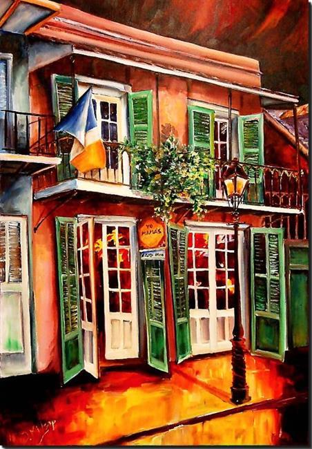 Art: Yo Mama's in New Orleans - SOLD by Artist Diane Millsap