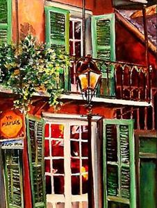 Detail Image for art Yo Mama's in New Orleans - SOLD