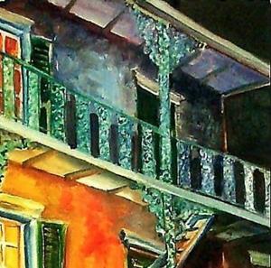 Detail Image for art French Quarter Allure - SOLD