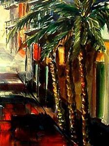 Detail Image for art New Orleans Summer Rain