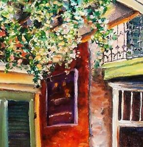 Detail Image for art Sunlit Vieux Carre' - SOLD