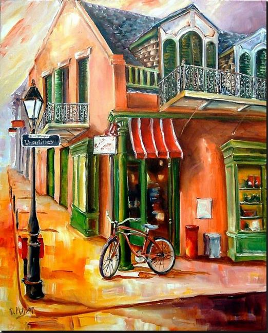 Art: Morning on Ursulines Street - SOLD by Artist Diane Millsap