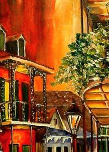 Detail Image for art The Bold Vieux Carre' - SOLD