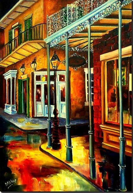 Art: Mysteries of the Vieux Carre' - SOLD by Artist Diane Millsap