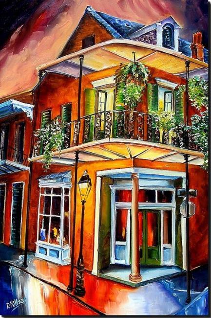 Art: Goodnight New Orleans SOLD by Artist Diane Millsap