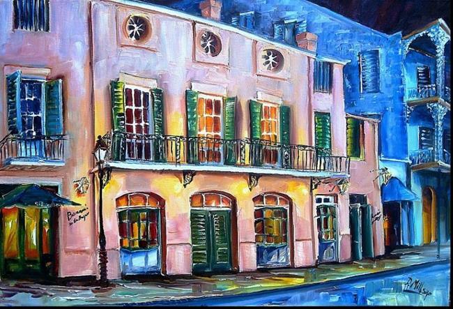 Art: Brennan's in New Orleans - SOLD by Artist Diane Millsap