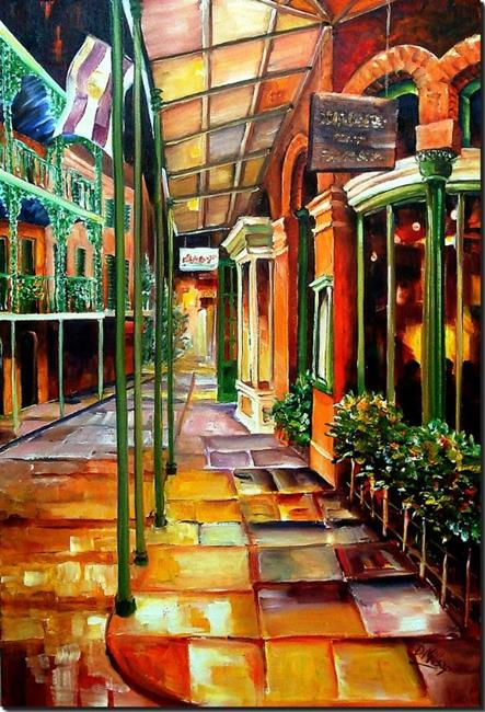 Art: Royal Street Magic - SOLD by Artist Diane Millsap