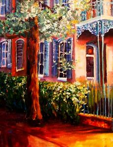 Detail Image for art In the Garden District - SOLD